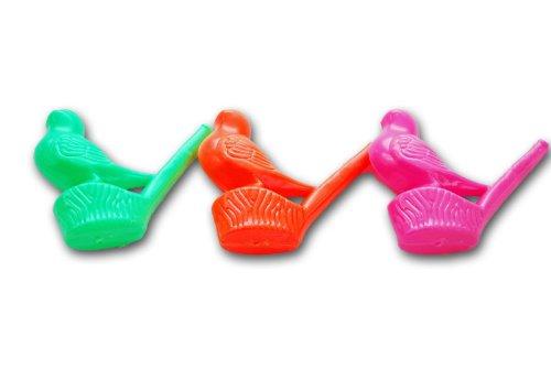 12 x Warbling water bird whistles.great party bag filler.