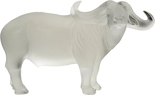 Lalique Crystal Water Buffalo