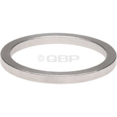 Wheels Manufacturing 1-Inch Spacer (Silver/2.5mm, Bag of 10)