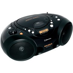 Turbo Series Portable CD Player with Digital Tuner