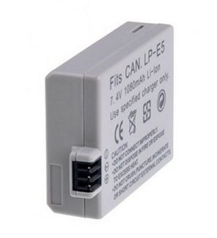 High Capacity - Rechargeable Battery for Canon EOS 500D Digital SLR Camera - AAA Products®