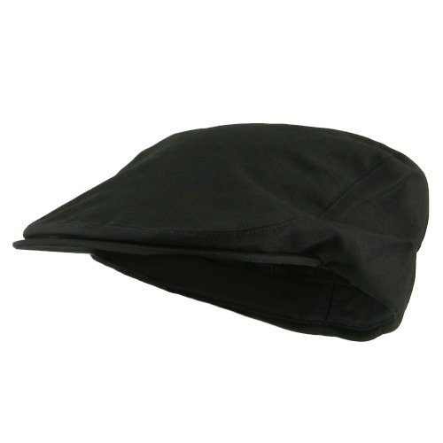 New Cotton Ivy Cap - Black S-M