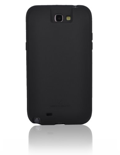 [180 days warranty] ZeroLemon Samsung Galaxy Note II Black Extended TPU Full Edge Protection Case Only for 9300mAh Extended Battery Battery NOT Included - FOR 9300mAh WORLD'S HIGHEST Note II BATTERY CAPACITY - GN2-Black-Case