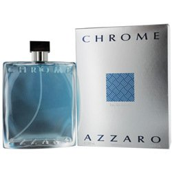 Azzaro Chrome Eau de Toilette Spray, 6.8 Fluid Ounce