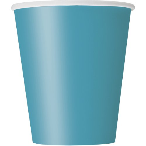 14 Count Paper Cup, 9-Ounce, Teal