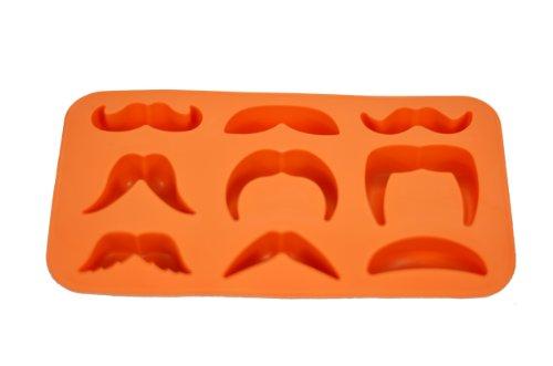 Fairly Odd Novelties Novelty Gag Gift Moustache Variety Ice Cube Tray Mold