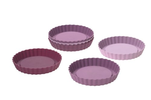 Lurch FlexiForm 85016 6 Piece Tartlet Mould Set Berry