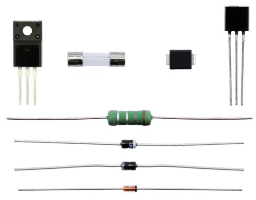 Emerson A1AFCMPW Power Supply Component Repair Kit (MAGNAVOX 32MF301B/F7)