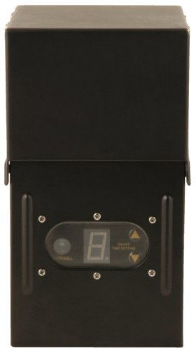Moonrays 95432 200-Watt Power Pack for Outdoor Low 12 Volts Lighting with Light-Sensor and Rain-Tight Case