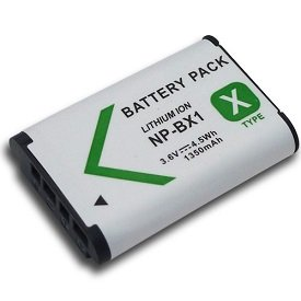 High Capacity - Rechargeable Battery for Sony Cyber-Shot DSC-HX50V, DSC-HX60V, DSC-HX300, DSC-HX400V, DSC-H400, DSC-WX300 and DSC-WX350 Digital Camera - AAA Products®