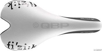 Fizik Aliante Gamma Kium Rail Saddle, White/Black