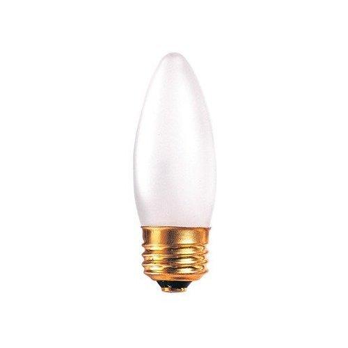 (15 Pack) 40 Watt Frosted Torpedo Shaped Incandescent Light Bulb, Medium Base