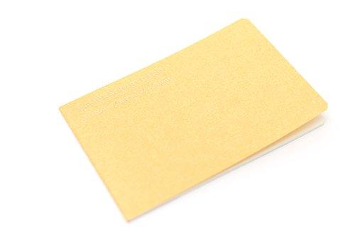 Midori Memorandum Card - Pure Gold