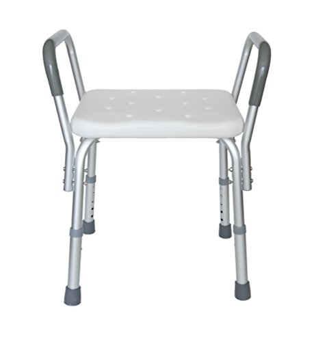AdirMed Adjustable Bath Bench with Arms