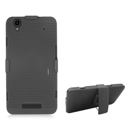 Cell Accessories For Less (TM) **PDA**For ZTE Max N9520 Dual w/Clip, Black + Bundle (Stylus & Micro Cleaning Cloth) - By TheTargetBuys