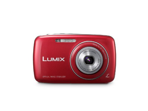 Panasonic Lumix DMC-S3 14.1 MP Digital Camera with 4x Optical Image Stabilized Zoom with 2.7-Inch LCD (Red)