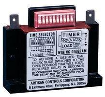 ARTISAN CONTROLS 438USA SOLID STATE TIMER 1NO 1024SEC, 288VAC/DC