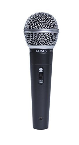 Jaras® Professional Moving Coil Dynamic Handheld Vocal/Instrument/Karaoke Microphone with 13 Foot Cord