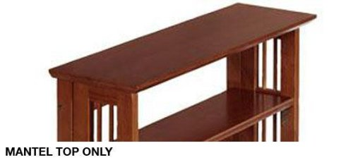 Mantel Top For Folding/stacking Bookcase