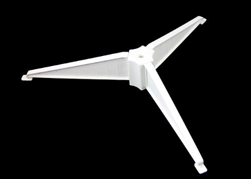 White Plastic Christmas Tree Stand For 2' - 2.5' Artificial Trees
