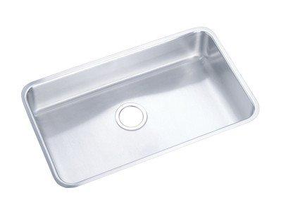 Elkay ELUH281610 Gourmet 18-1/2 x 30-1/2 Single Basin Undermount Stainless Ste,