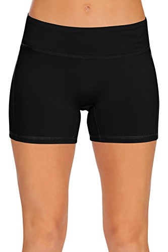 Womens Active Workout Running Shorts Pants with Pockets
