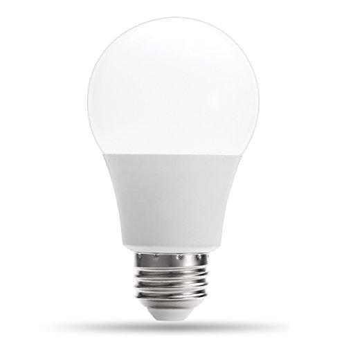 LED Light Bulbs, 6W A19 E26 Natural Daylight White 5000k LOHAS® LED Lamps, 40Watt Incandescent Bulbs Replacement,500 Lumens,240 Degree Beam Angle LED Light for Home Lighting