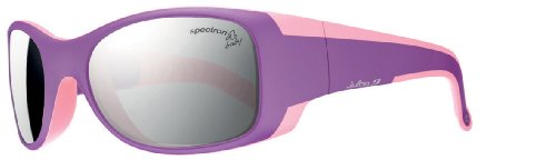 Julbo Kid's Booba Sunglasses, Spectron 4 Baby Lens, Violet/Pink, 4-6 Years