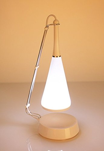 LUOYIMAN Touch Sensor LED Table Lamp with Mini Speaker Table Pendant Lamp/light with Triangle and Conical Design LED Eyes-care Light Loudspeaker for MP3 MP4 Phone and Others Adjustable Lightness