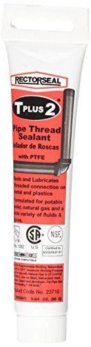 Rectorseal 23710 1-3/4-Ounce Tube T Plus Pipe Thread Sealant