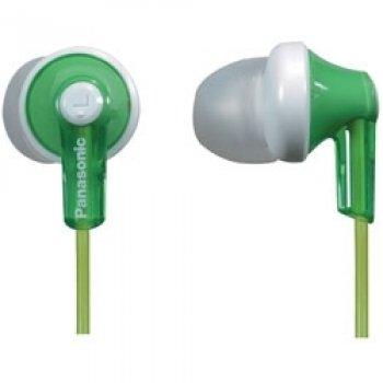 Panasonic RP-HJE120E-G Ergo Fit Ear Canal Headphones - Green