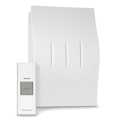 Honeywell RCWL250A1006/N Decor Wireless Door Chime and Push Button