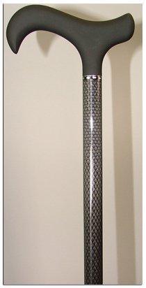 Homecraft Soft Grip Carbon Fibre Stick Black Diamond