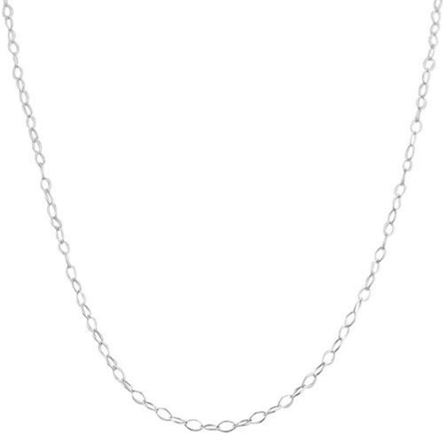 Necklaces for Teen Girls Silver Classic Delicate Thin Fine Link Chain 18 and 24 Inch Fashion Jewelry Gift
