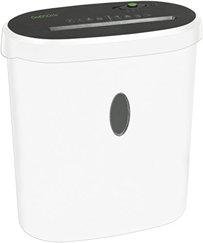 GoECOlife Limited Edition GMW81B 8-Sheet High Security Microcut Paper Shredder
