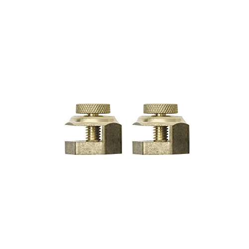 Kapro 302-01 Solid brass Stair Gauge Fits Squares Upto 0.25 and 34 Thick