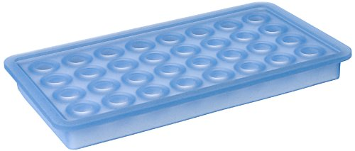 Lurch 10435 Ice Cube Tray Balls Ø 20 mm Ice-Blue