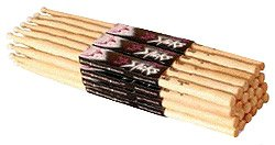 On Stage Maple 5A Nylon Tip Drumsticks 12 Pairs