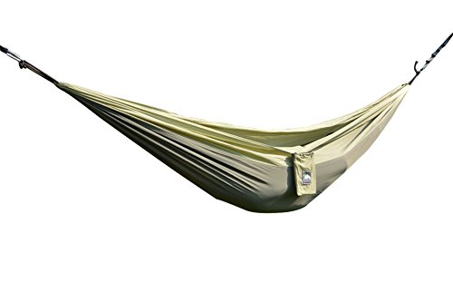 Oliver James Portable Parachute Nylon Fabric Travel Camping Hammock - High Strength Compact Ultralight