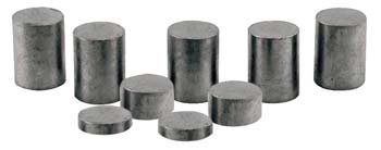 Pinecar Tungsten Incremental Cylinder Weights 3 oz.