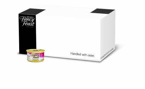 FFP Fancy Feast Gourmet Cat Food, Classic Chicken Feast, 3-Ounce Cans (Pack of 24)