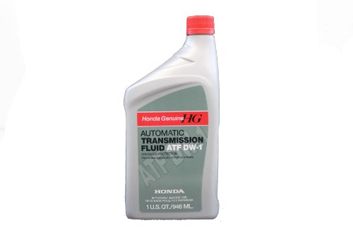 Genuine Honda Fluid 08200-9008 ATF-DW1 Automatic Transmission Fluid - 1 Quart
