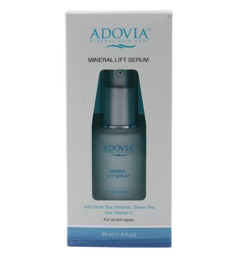 Adovia Anti Aging Facial Serum - Premier Facial Serum with Vitamin C, Dead Sea Salt and Hyaluronic Acid - Get Firmer, More Radiant Looking Skin - Anti Wrinkle Serum for Younger & Firmer Looking Skin