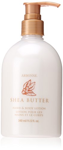 Arbonne Shea Butter Hand and Body Lotion, 11.5 Fluid Ounce