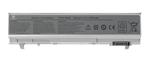 TechOrbits replacement battery for Dell Latitude E Series E6400 E6400 ATG E6500 E8400 E6410 E6510 Presicion M2400 M4400 M6400,fits 312-0748 312-0749 PT434 NM633 KY265 KY266 KY268 KY477 PT437 PT436 PT435 FU268 FU272 FU274 FU571 MN632 MP307 MP303 6 cell 4400mAh