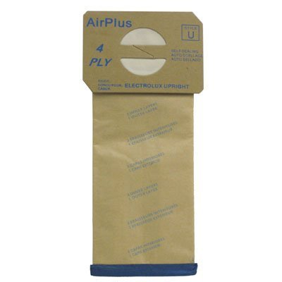 1 X Package of 100 Replacement Aerus / Electrolux Type U Bags