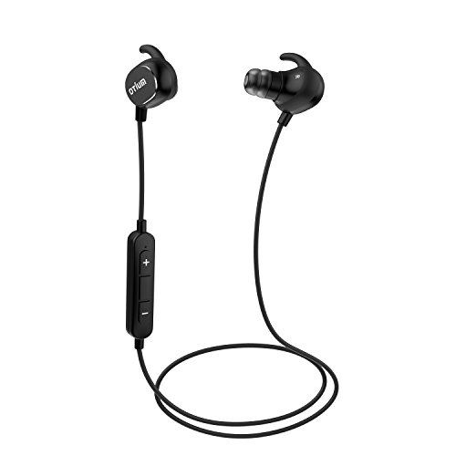 Otium® Bluetooth Headphones Wireless Stereo Runner Headsets Lightweight Sweatproof Earbuds In-ear Noise Cancelling Apt-X Sports Earphones Line Control Handsfree with Mic for Smartphones