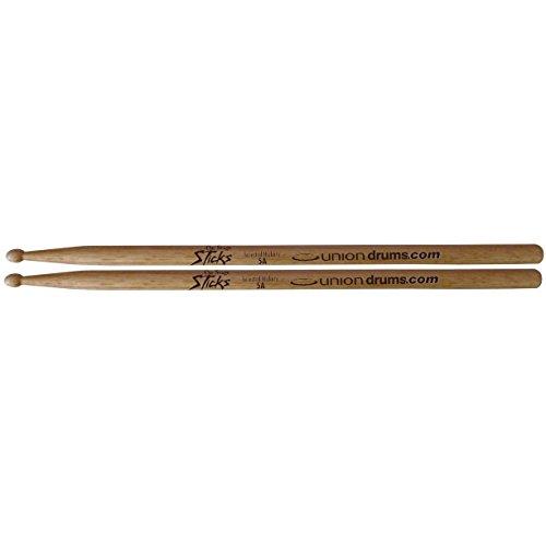 On-Stage HW5A 5a Wood Tip Drumsticks