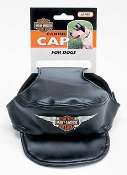 Harley-Davidson Vinyl Cap Black Small