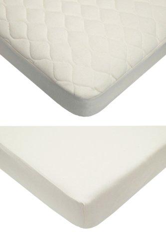 American Baby Company 100% Organic Cotton Bedding Set, Natural